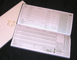 Readers 100 Innings Scorebook